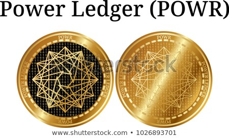 Powerledger Digital Currency - Vector Sign Icon. Stock photo © tashatuvango