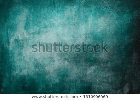 turquoise grunge background stock photo © studiostoks