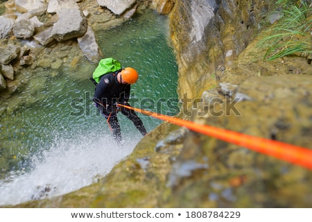 Canyoning in Spain Stock photo © pedrosala