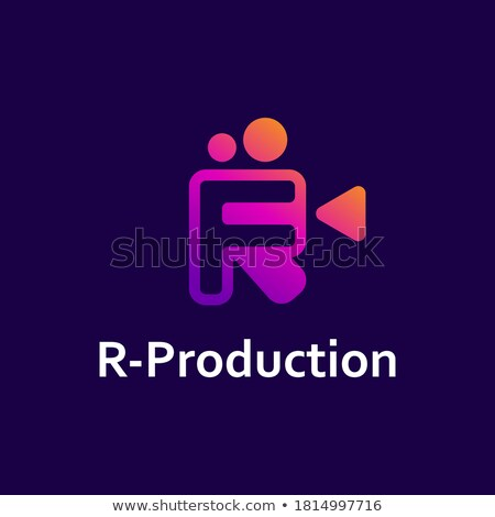 Video record vector icon, video camera symbol. Modern, simple fl Stock photo © kyryloff