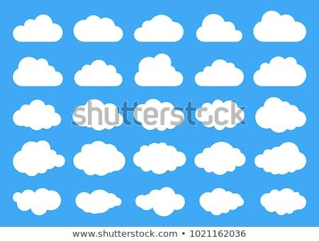 nube · forma · cielo · azul · espacio · de · la · copia · cielo · espacio - foto stock © make
