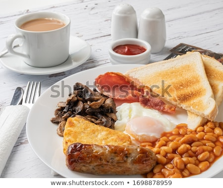 traditional english breakfast stock photo © grafvision