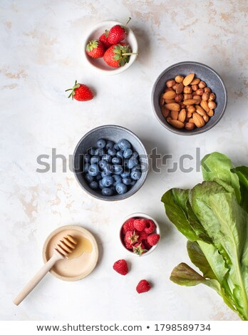 Fresh blueberries on light background stock photo © furmanphoto