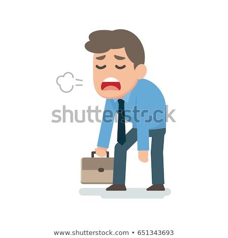 ビジネスマン 悲しい 疲れ 失望した 事務員 ストレス ストックフォト © smoki