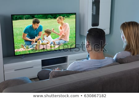 Married couple watching TV Stock photo © jossdiim