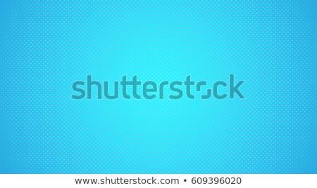 blue pop art background Stock photo © studiostoks