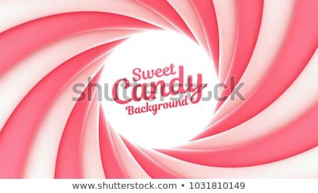 cukorka · valentin · nap · édes · piros · izolált · fehér - stock fotó © jsnover