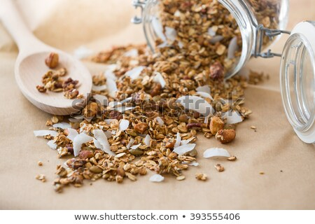 Homemade granola with coconut Stock photo © BarbaraNeveu