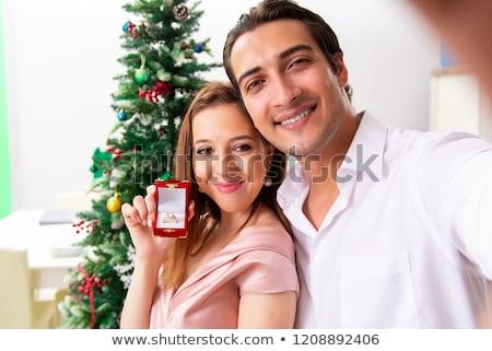 男 結婚 提案 クリスマス 日 ストックフォト © Elnur