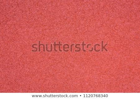 Czerwony stadion uruchomiony tekstury streszczenie Zdjęcia stock © boggy