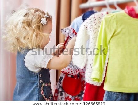 mère · enfants · vêtements · magasin · affaires · femme - photo stock © Paha_L