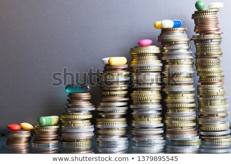 high costs of expensive medication concept Stock photo © dacasdo