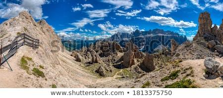 высокий долины лет пейзаж горные Сток-фото © Antonio-S