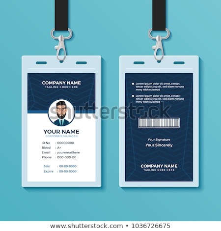 abstract corporate id template stock photo © pathakdesigner