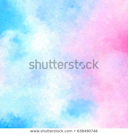 Сток-фото: синий · розовый · мало · ковша · роз · изолированный