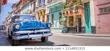 kleuren · Cuba · jas · armen · kaart · vlag - stockfoto © perysty