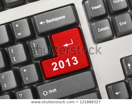 2013 Key On Keyboard Stock photo © REDPIXEL