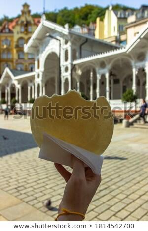 Bonbons isolé blanche sucre desserts Photo stock © luiscar
