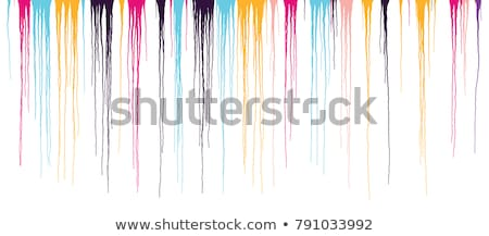 color ink streaks of paint stains Stock photo © butenkow