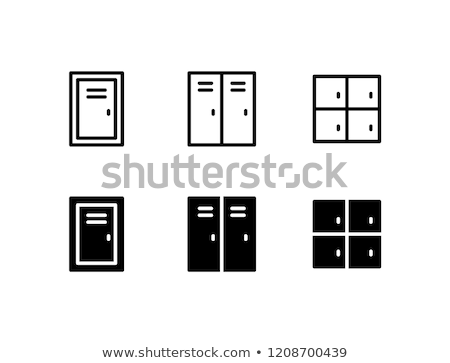 Icon locker Stock photo © zzve