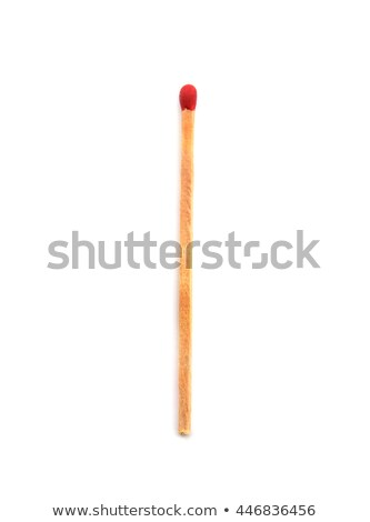 red matches isolated on white background stock photo © kawing921