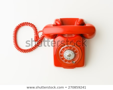 old phone machine stock photo © jonnysek
