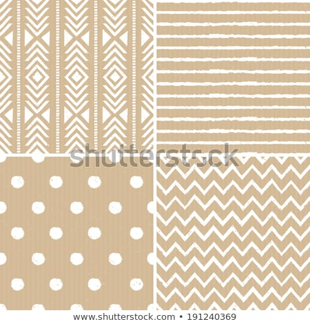 seamless polka dots pattern on recycled paper, cardboard  Stock photo © creative_stock