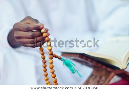 fiatal · muszlim · fickó · imádkozik · férfi · készít - stock fotó © jasminko