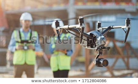 Two Drone is flying  Stock photo © smuki