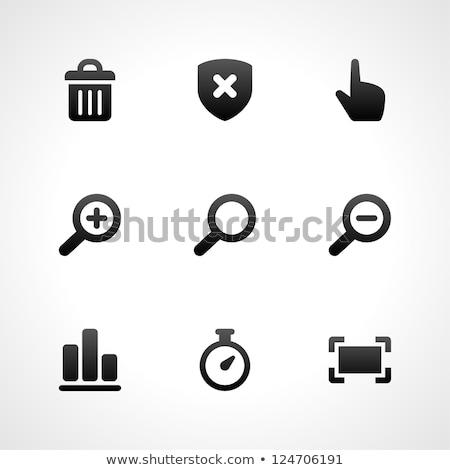 üveg ikon információ jel textúra internet terv Stock fotó © maximmmmum