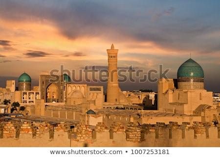 Mezquita minarete Islam torre Estambul ciudad Foto stock © tony4urban