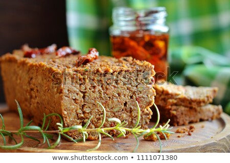 meat loafs with vegetable Stock photo © fanfo