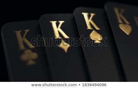 Four Kings Stock photo © Bigalbaloo