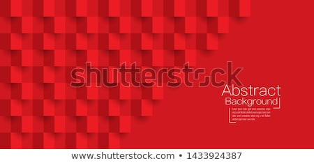 Stock photo: Red Squared Background