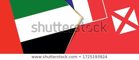 United Arab Emirates and Wallis and Futuna Flags Stock photo © Istanbul2009
