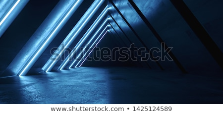 futuristic light tunnel Stock photo © ssuaphoto