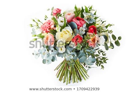 Bouquet of irises with tulips Stock photo © Valeriy