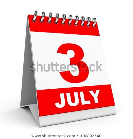 3rd July Stock photo © Oakozhan