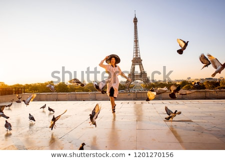 観光 少女 実例 市 地図 小さな ストックフォト © adrenalina