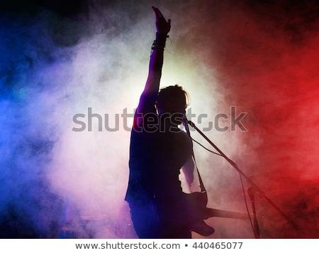 Muzikant discotheek fase vrouw partij Stockfoto © wavebreak_media