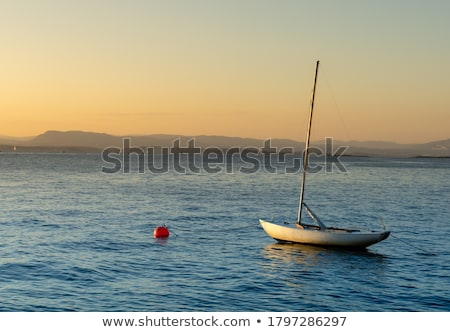 man tying knot at buoy Stock photo © IS2