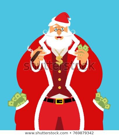 Riche argent trésorerie bénéfices Noël Photo stock © popaukropa