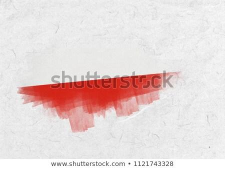 Bandera pergamino papel Foto stock © wavebreak_media