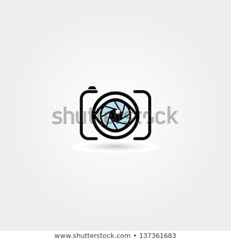 Ojo cámara fotografía aplicación vector Foto stock © vector1st
