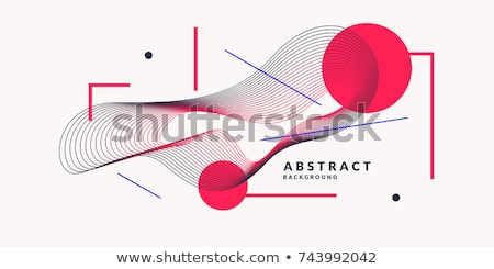Particle Design Abstract Background Vector. Movement Surface. Data Flow. Mountain, Topographic. Cove Stock photo © pikepicture