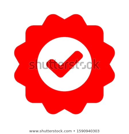 Check Mark and Tick Used in Voting Icon Vector Stock photo © robuart