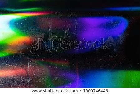 Déformée design coloré résumé icônes Photo stock © cidepix