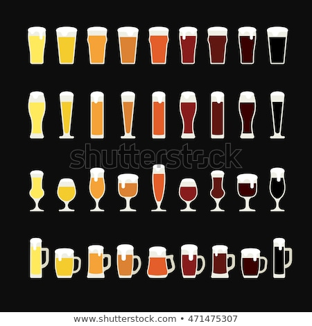 Beer Imperial Pint Glass Stock photo © albund