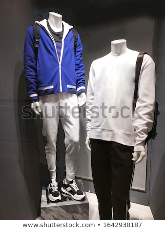 Stock photo: mannequins in store