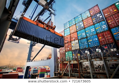 industrial port stock photo © manfredxy